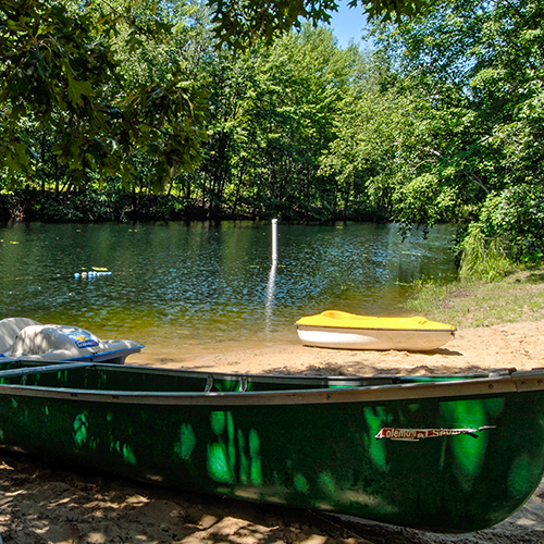 Bass Lake Campground Family Camping Near Wisconsin Dells